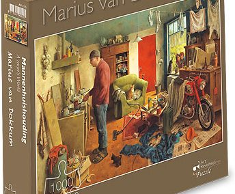 Puzzel Art Revisited – Marius van Dokkum – Mannenhuishouding 1000