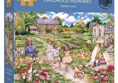 puzzel Gibsons – Childhood Memories (500)