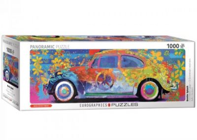puzzel Eurographics -panorama – VW beetle splash (1000)