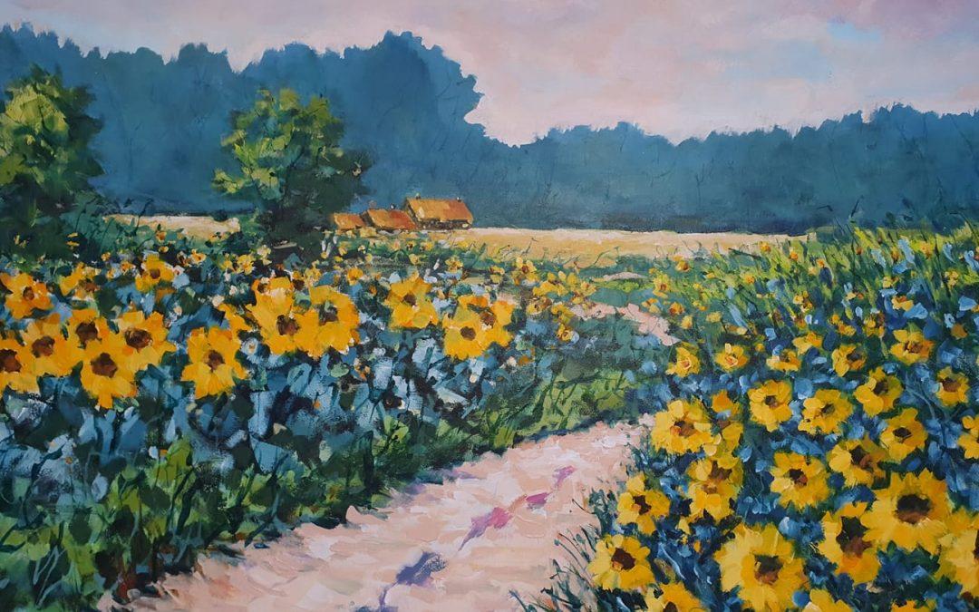 Louis Baeten – Zonnebloemvelden