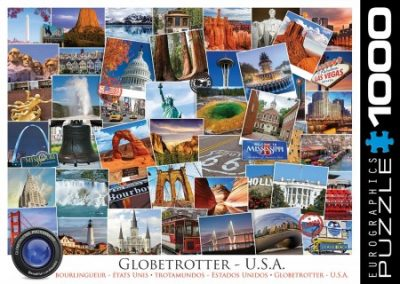puzzel Eurographics – Globetrotter USA