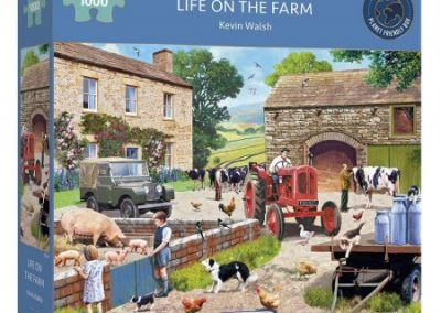 puzzel Gibsons – Life on the farm (1000)