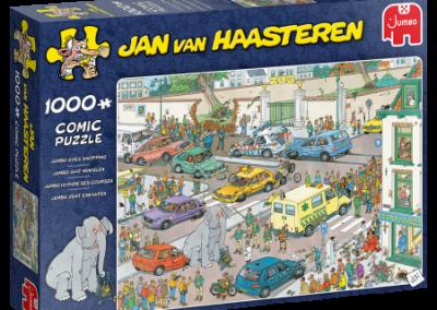 puzzel Jumbo – Jan van Haasteren – Jumbo gaat Winkelen