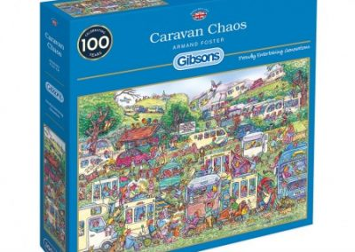 puzzel Gibsons Caravan Chaos