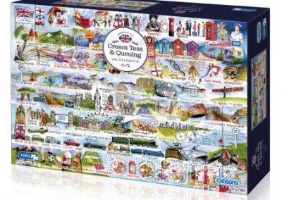 puzzel Gibsons Cream Teas & Queuing (1000)