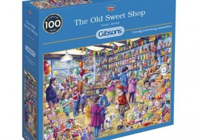 puzzel Gibsons The Old Sweet Shop