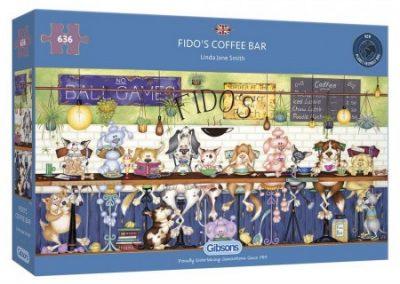 puzzel Gibsons – Fido's Coffee Bar