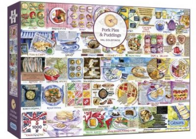 puzzel Gibsons – Pork Pies & Puddings