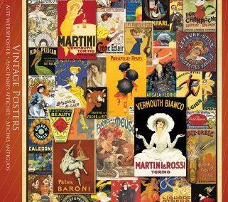 puzzel Eurographics Vintage posters