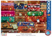 puzzel Eurographics – Travel Suitcases (1000)