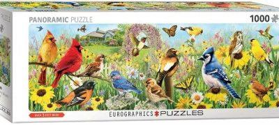 puzzel Eurographics Garden Birds – Greg Giordano Panorama