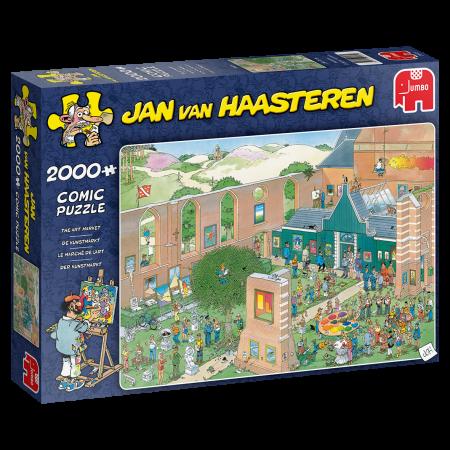 Puzzel Jumbo Jan van Haasteren – Kunstmarkt