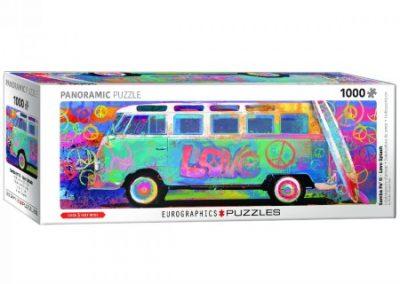 puzzel Eurographics Samba Pa'  Ti – Love BusVW Panorama