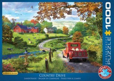 puzzel Eurographics The Country Drive- Dominic Davison