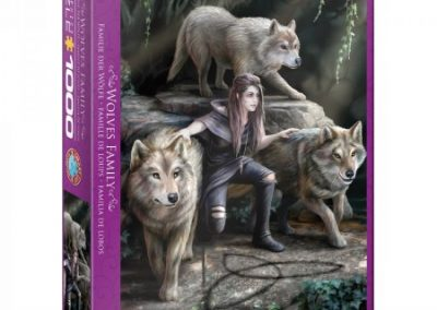 puzzel Eurographics Wolves Family (1000)