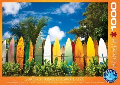puzzel Eurographics Surfer's paradise Hawaii