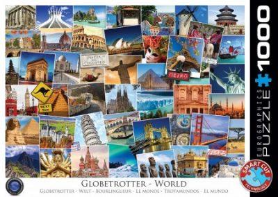 puzzel Eurographics World Globetrotter