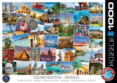 puzzel Eurographics Globetrotter Mexico