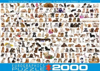 puzzel Eurographics  World of Dogs 2000