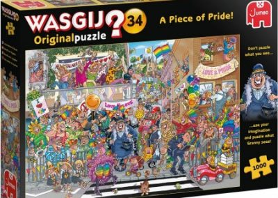 puzzel jumbo Wasgij Original 34 Een stukje Trots
