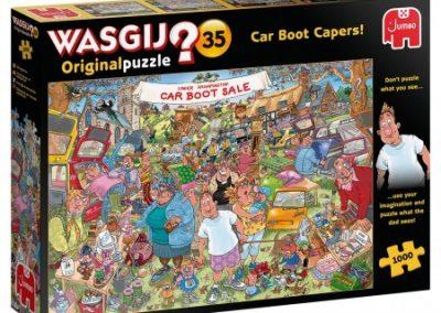 puzzel jumbo Wasgij Original 35 Car Boot Capers
