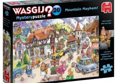 puzzel jumbo Wasgij Mystery 20 Vakantie in de bergen