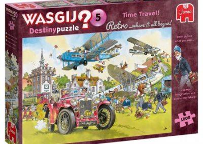 puzzel jumbo Wasgij Retro Destiny 5 Tijdreizen