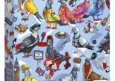 puzzel Gibsons Pigeons of Britain (1000)