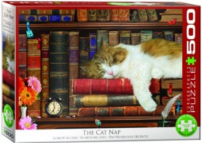 puzzel Eurographics The Cat Nap (500)
