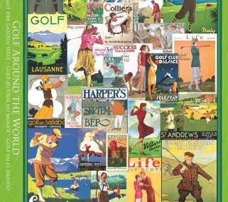 puzzel Eurographics Golf Around the World (1000)