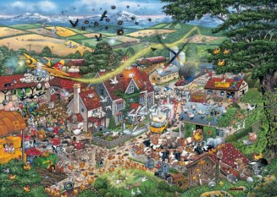 puzzel Gibsons i Love the Farmyard (1000)