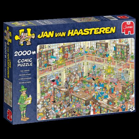 puzzel Jumbo Jan van Haasteren –  De Bibliotheek (2000)