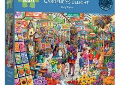puzzel Gibsons Gardener's Delight (500XL)