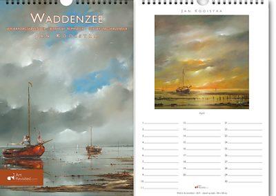 Art Revisited verjaardagskalender Waddenzee