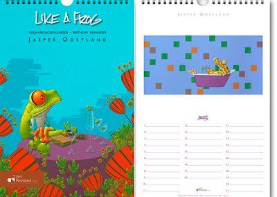 Art Revisited verjaardagkalender Like a Frog
