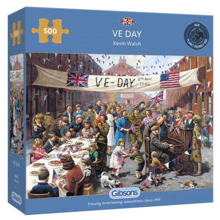 puzzel Gibsons VE Day 1000