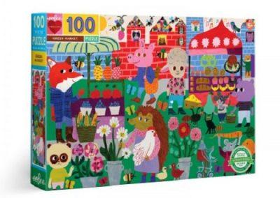 puzzel Eeboo Green market 100