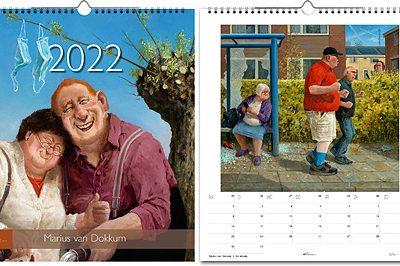 jaarkalender Marius van Dokkum 2022
